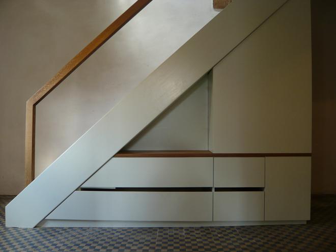 Christoph kiltz schreinermeister for Garderobe treppe